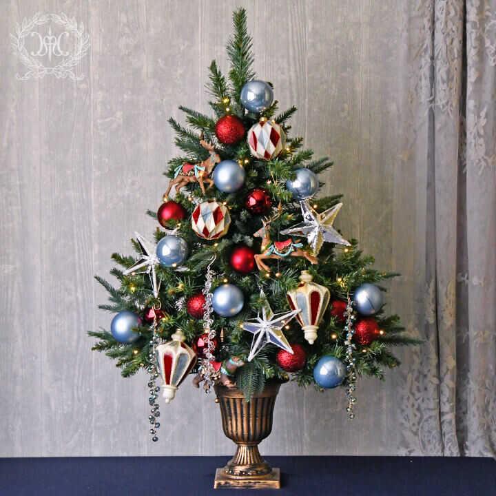【Web store限定】クリスマスツリーセット90cm/スターリーカーニバル