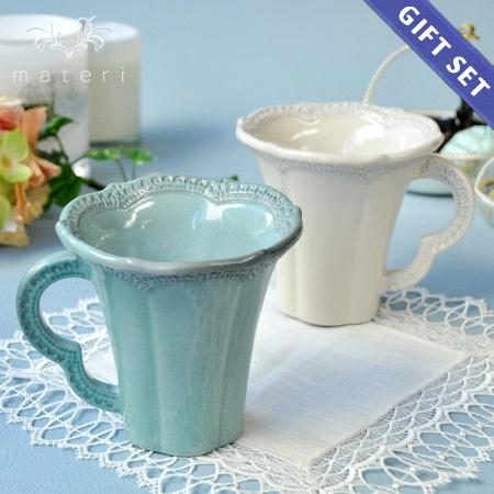 ギフトSET/ ラセラミカ マグカップ2色セット