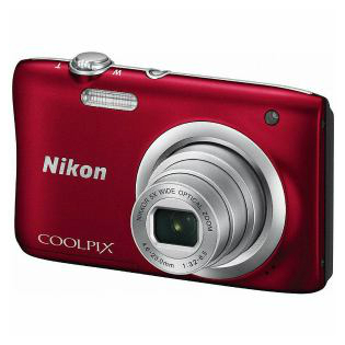 【Nikon/ニコン】コンパクトデジタルカメラ COOLPIX A100 レッド A100-RD