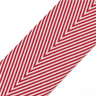 リボン TWILL/STRIPES RED