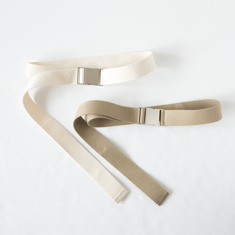 COTTON ONE TOUCH BELT(キナリ, onesize)