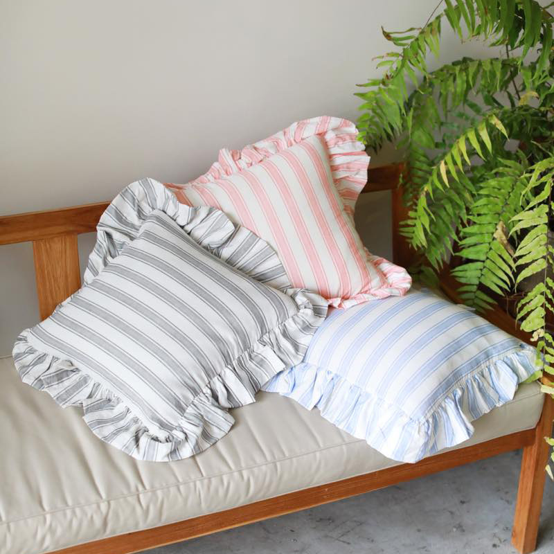 STRIPECUSHIONCOVER(オレンジ, 450×450)