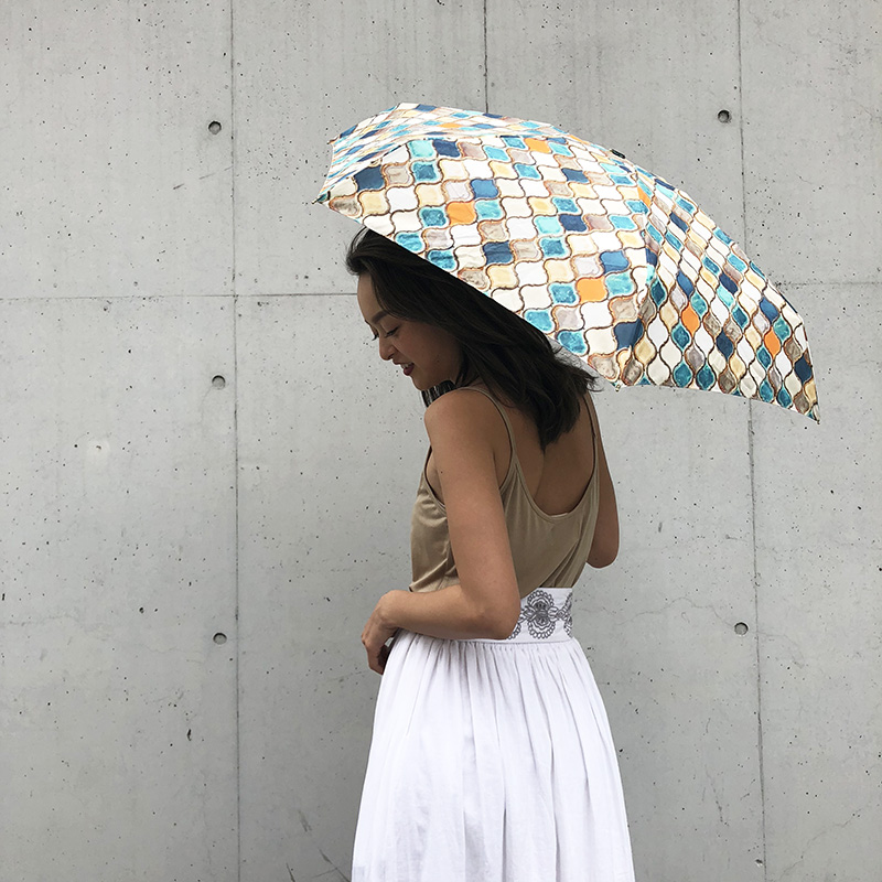 MOSAIC TILE Compact Umbrella