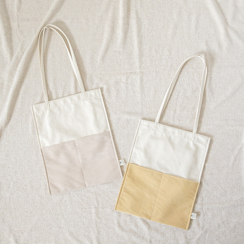 ECO SUEDE コンビトートBAG