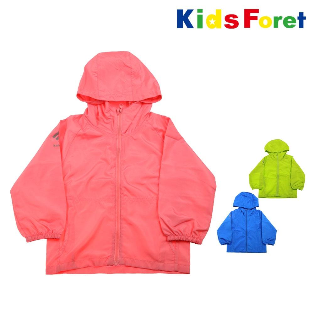 45cc054a20b84 Kids Foret (キッズフォーレ) KF 撥水シェルジャケット・パーカー 90cm~130cm