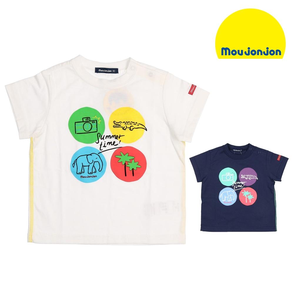26e904ae9fce4 moujonjon (ムージョンジョン)日本製プリントTシャツ 80cm~140cm M40802