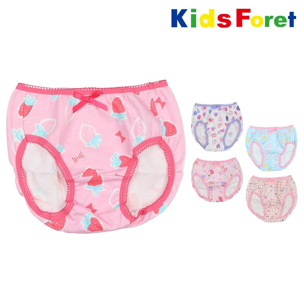 7d1c82b5f180a Kids Foret (キッズフォーレ) 総柄ショーツ・下着・パンツ 100cm~130cm ...