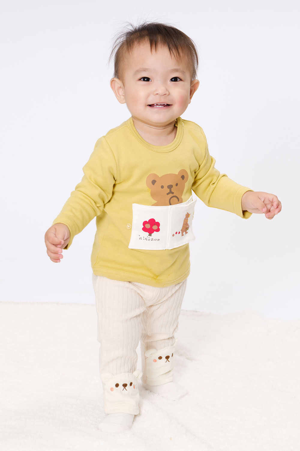 2020 AUTUMN&WINTER kids zoo コーディネート STYLE6