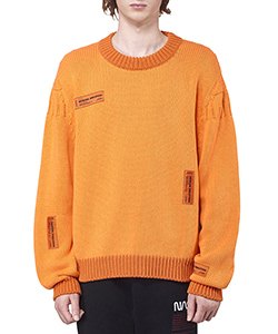 CREWNECK SWEATER CRAZY LABEL