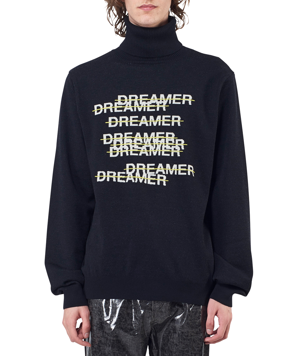 DREAMER JACQUARD TURTLENECK KNIT SWEATER