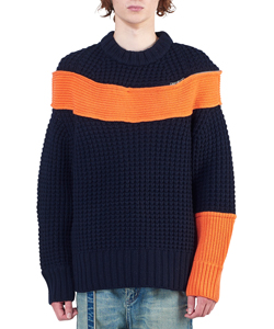 COLOR COMBO PULLOVER