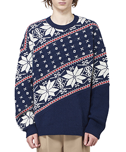 BIAS NORDIC SWEATER