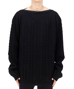 KNIT SWEATER WITH ZIP AT NECKLINE