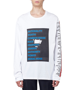 GRAPHIC PRINT LONG SLEEVE T-SHIRT