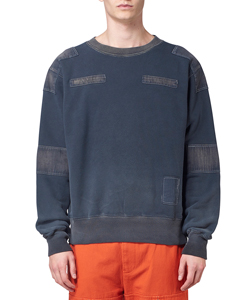 BLEACH PATCHWORK SWEAT SHIRT