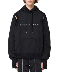 DEEPER THAN NIGHT ARM HOLE HOODIE