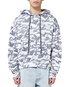 ARROWS PATTERN OVER HOODIE
