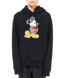 MICKEY MOUSE PULLOVER HOODIE. ORIGINAL COLOR