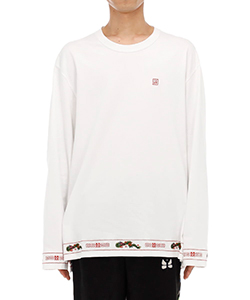 RA-MEN EMBROIDERY LONG SLEEVE T-SHIRT