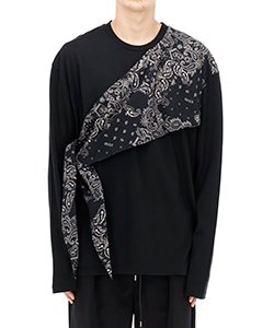 L/S SCARF TEE