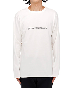 LOGO TEXT LONG SLEEVE T-SHIRT