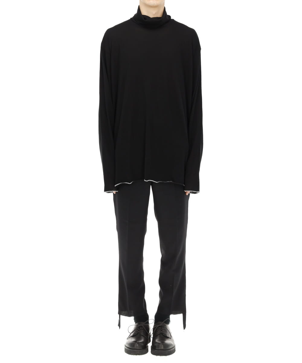 TURTLENECK CUT SEW