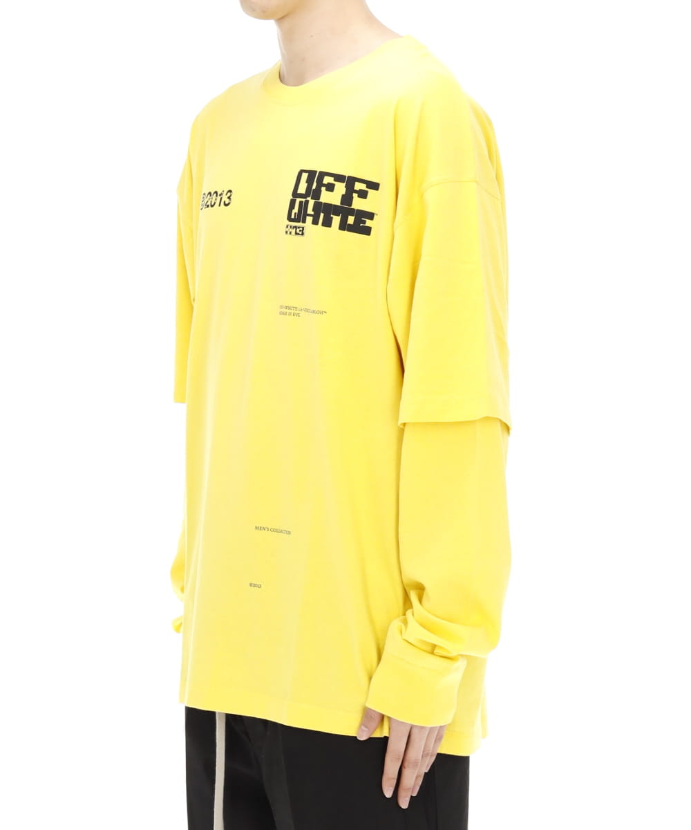 TECH MARKER DOUBLE SLEEVE TEE