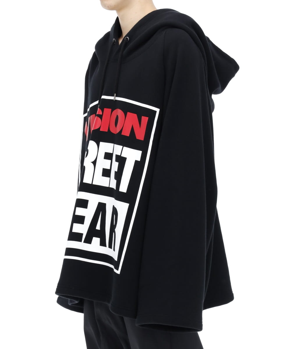 ZOOM UP SWEAT PARKA