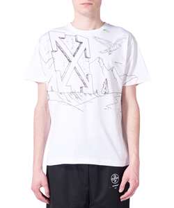 PENCIL EAGLE S/S SKINNY TEE