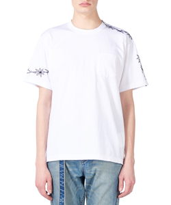 DR. WOO EMBROIDERED T-SHIRT