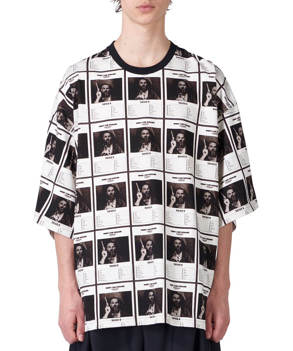 OVERSIZED WANTED T SHIRTS