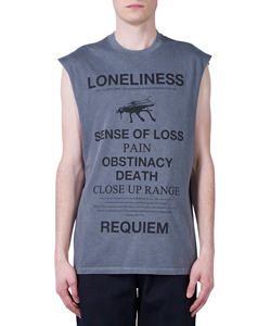 Overdyed Sleeveless T-shirt