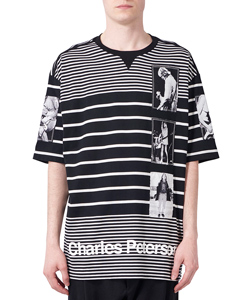 JIMMY STRIPE OVERSIZED CREW NECK S/S TEE
