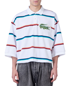 3D PATCH OVERSIZED POLO SHIRT