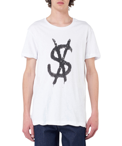 SPRAY DOLLAR SS TEE WHITE