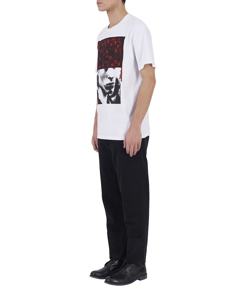 SLIM FIT T-SHIRT PIERCED MOUTH