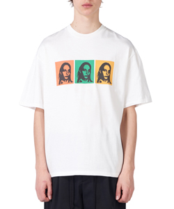 DOUBLE SIDED GRAPHIC PRINT T-SHIRT
