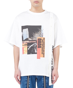 COMBINED 2-WAY GRAPHIC PRINT SHIRT
