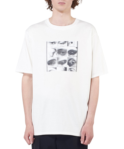 EYES PRINTED T SHIRT