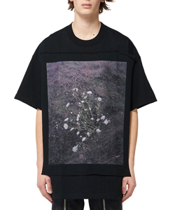 PHOTO PRINTED OVERSIZED T-SHIRT