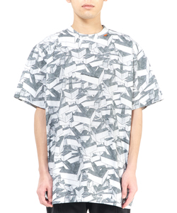 ARROWS PATTERN S/S OVER TEE