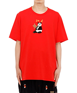 PUPPET ANIMAL EMBROIDERY T-SHIRT