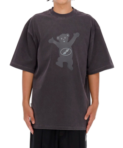CHARCOAL WE11DONE TEDDY T-SHIRT
