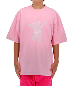 PINK WE11DONE TEDDY T-SHIRT