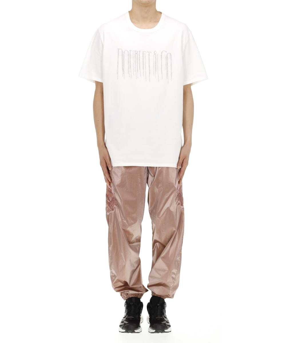 CHAIN FRINGE EMBROIDERY T-SHIRT