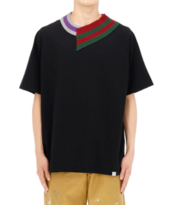TIGHT TENSION PLAIN STITCH T-SHIRT