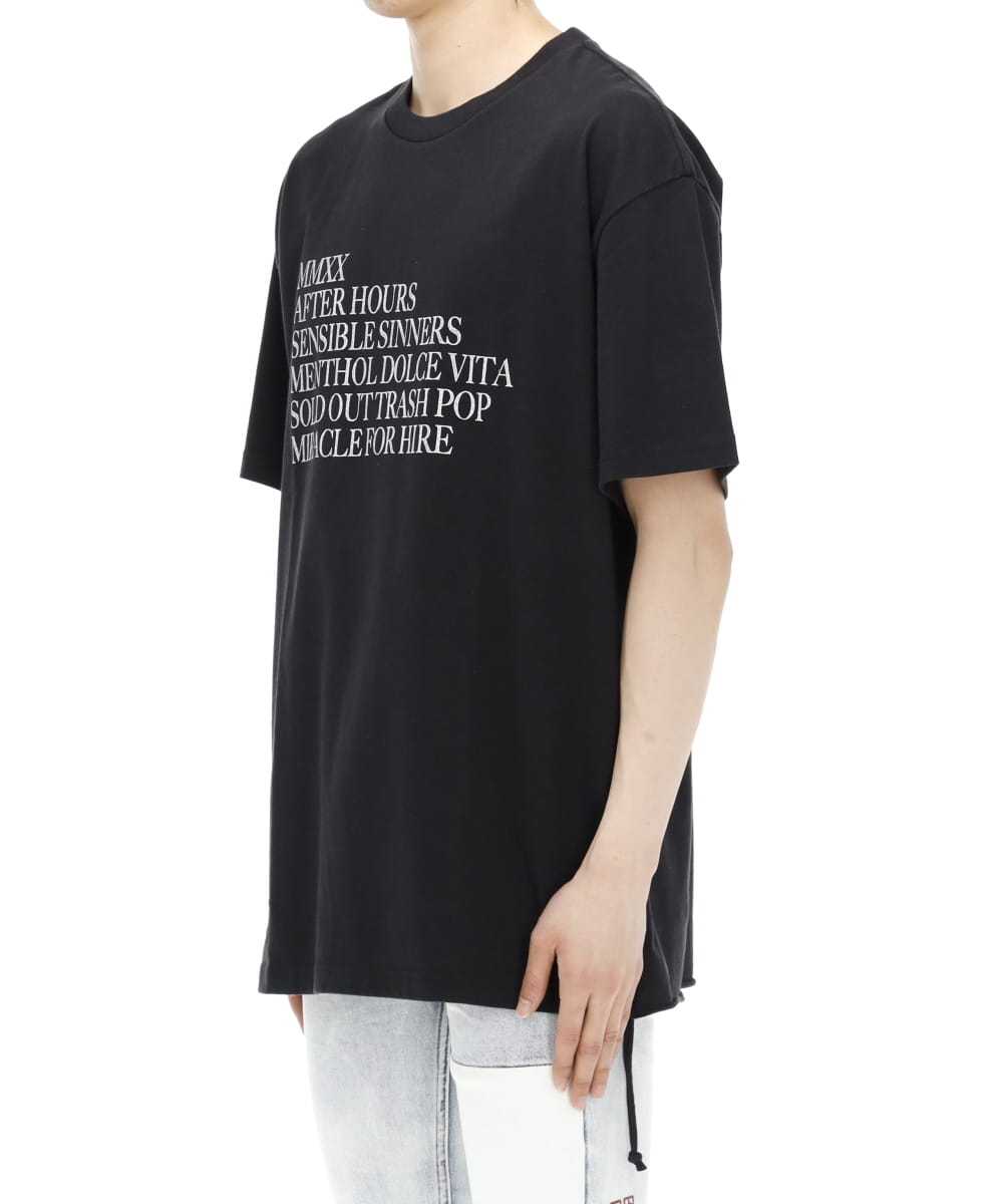 AFTER HOURS SS TEE