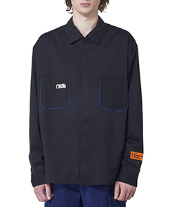 WORKER SHIRT PIPING EMB.CTNMB
