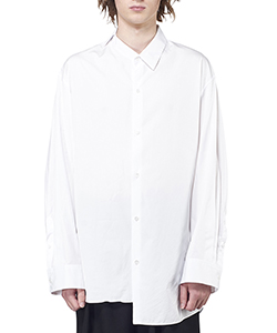 BROAD CLOTH ASYMMETRY SHIRT