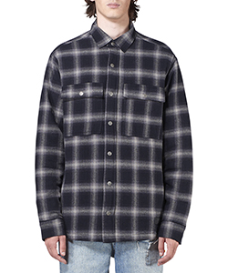 STRATE QUILTED LS SHIRT